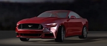 2015 Ford Mustang Rendered in 3D [Video]
