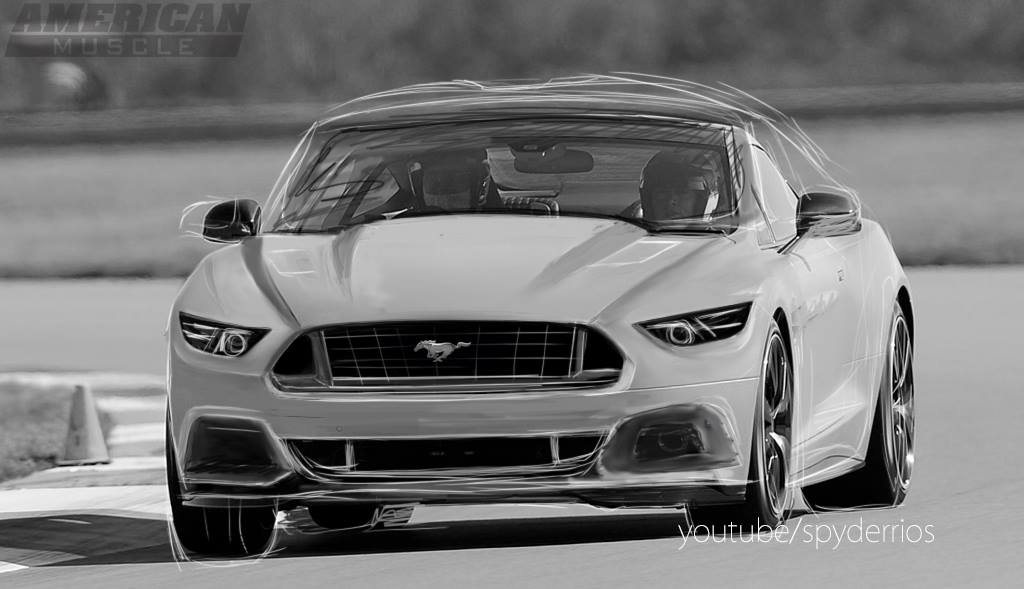 Ford Mustang Build >> 2015 Ford Mustang Rendering Reveals the Pony's New Face - autoevolution