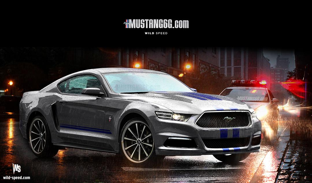 2017 Ford Mustang Renderings Shed Light On New Design