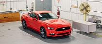 2015 Ford Mustang Shows Up in First Official Photos
