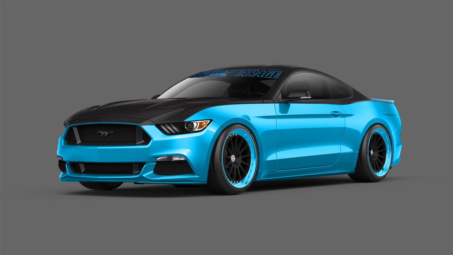 2015 ford mustang to take sema by storm with over 12 custom vehicles autoevolution. Black Bedroom Furniture Sets. Home Design Ideas