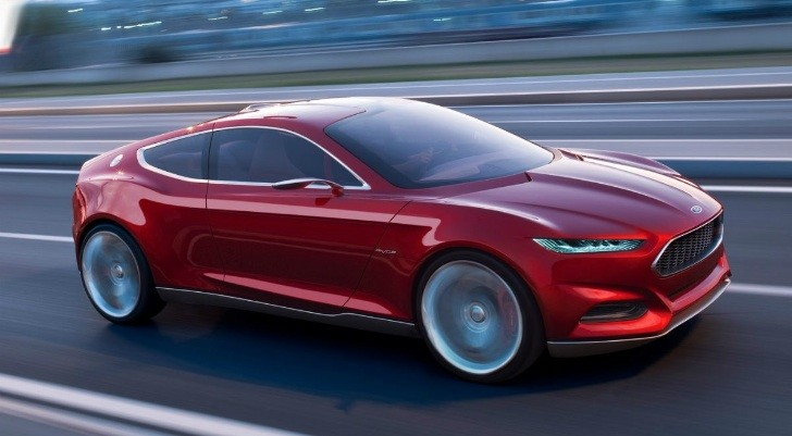 2015 ford mustang will use evos concept design autoevolution - 2016 Ford Mustang Concept