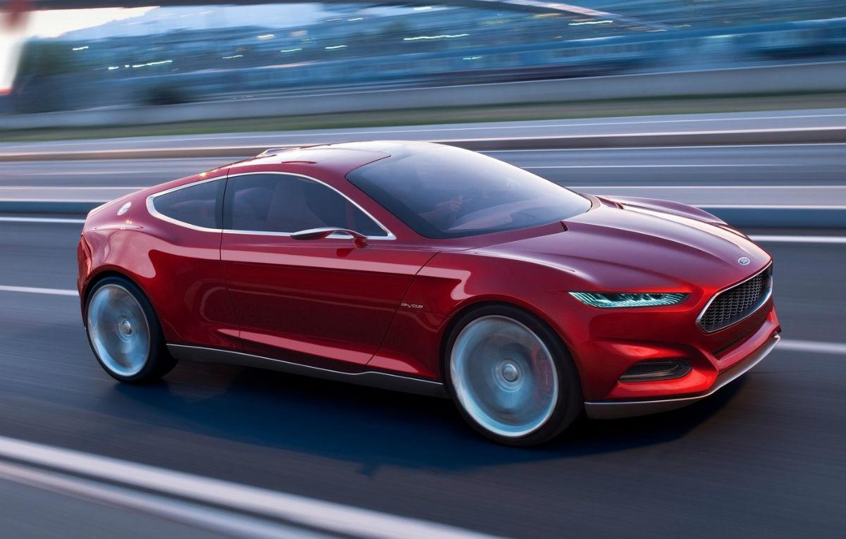 Ford Mondeo 2015 Interior >> 2015 Ford Mustang Will Use Evos Concept Design - autoevolution