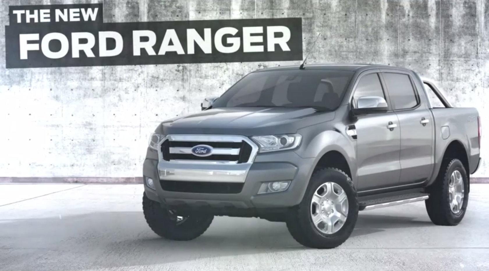 2015 Ford Ranger Facelift Fully Revealed - autoevolution