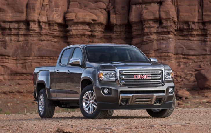 2015 gmc canyon unveiled autoevolution. Black Bedroom Furniture Sets. Home Design Ideas