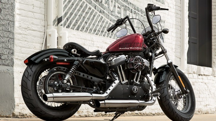 Harley Davidson Battery >> 2015 Harley-Davidson Sportster Forty-Eight Is Ready to Turn Heads - autoevolution