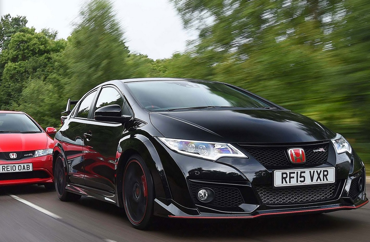 2015 honda civic type r takes on ep3 and fn2 predecessors. Black Bedroom Furniture Sets. Home Design Ideas