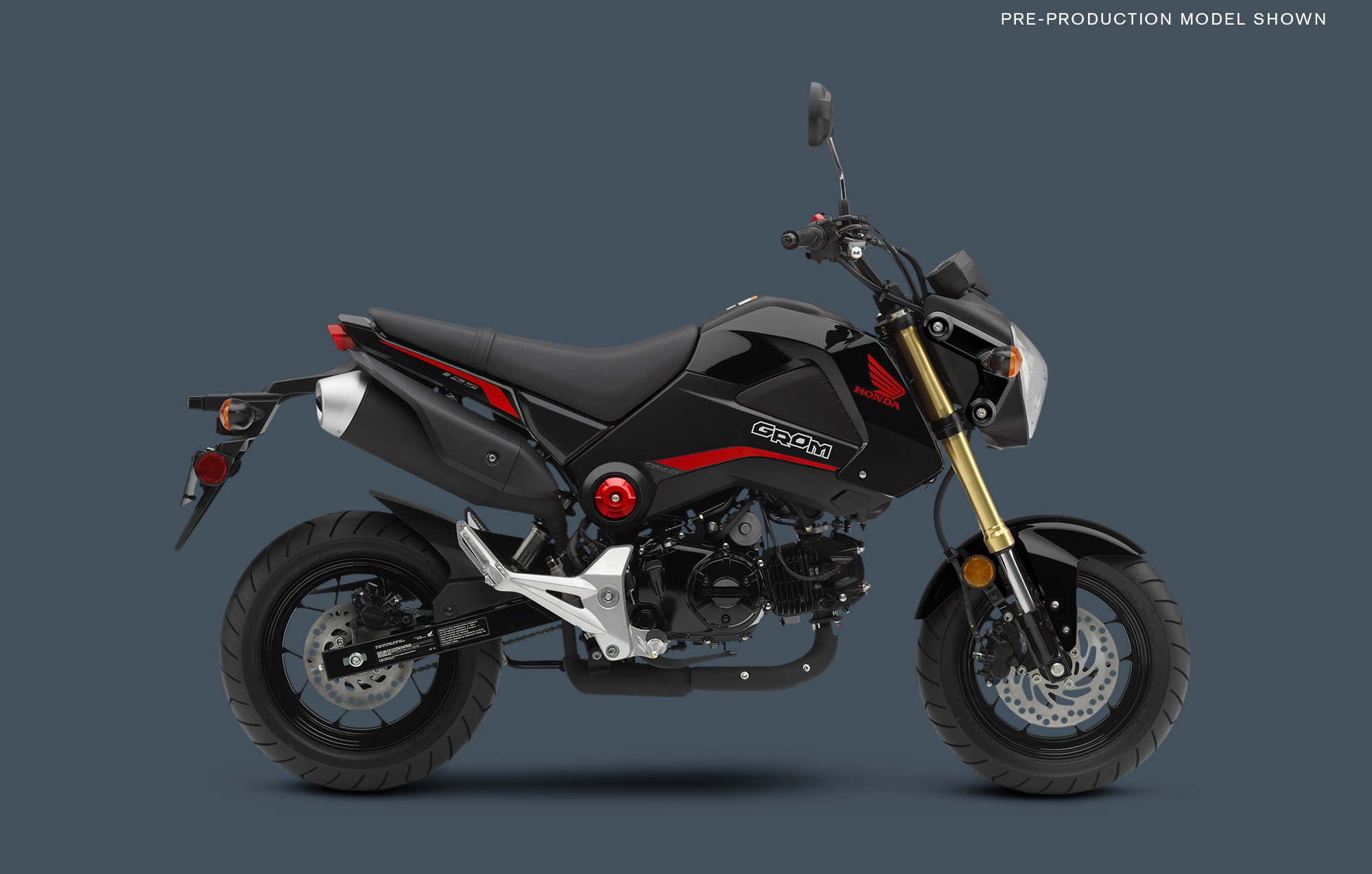 2015 Honda Grom Shows Up in Four Sweet Colors autoevolution