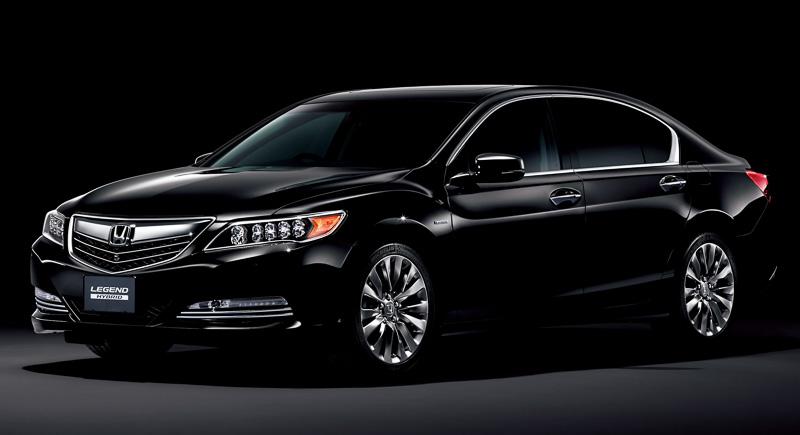 2015 Honda Legend Flagship Sedan Revealed in Japan: It's ...