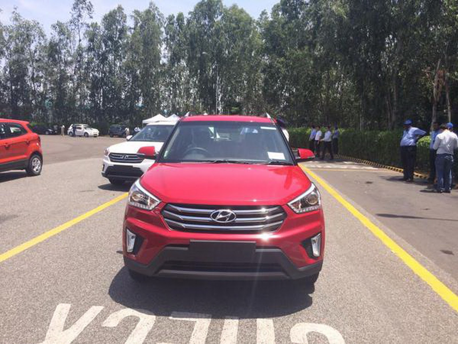unveiled september india in hyundai iii crdi duesseldorf premium auto tucson gen frontansicht manufacturer autogyaan expo