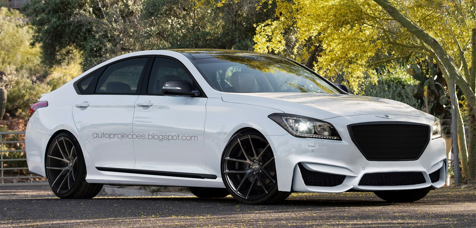 2015 Hyundai Genesis Turns into M3 Fighter in Performance ...
