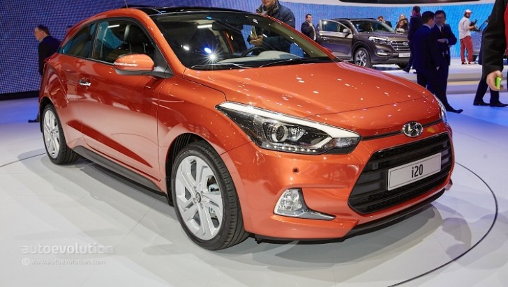 2015 Hyundai I20 Coupe Is The Coolest Supermini In Geneva