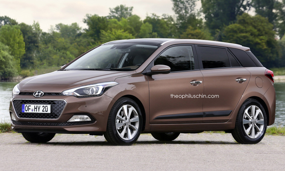 2015 Hyundai I20 Wagon Rendered Autoevolution