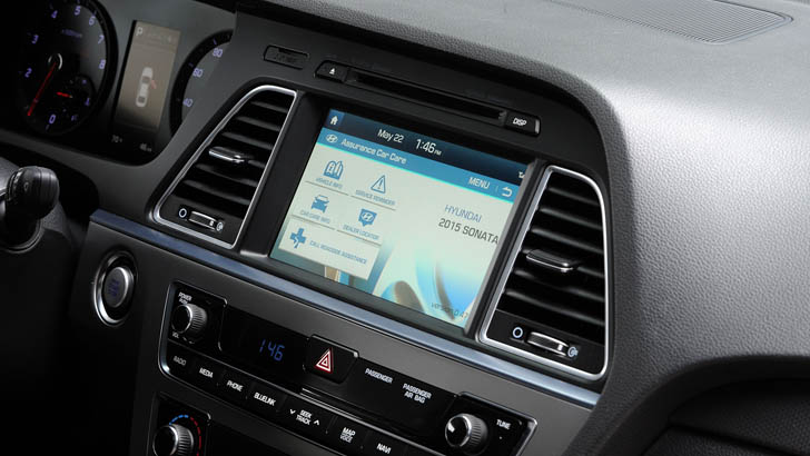 2015 hyundai sonata adds new tech to second gen blue link autoevolution. Black Bedroom Furniture Sets. Home Design Ideas