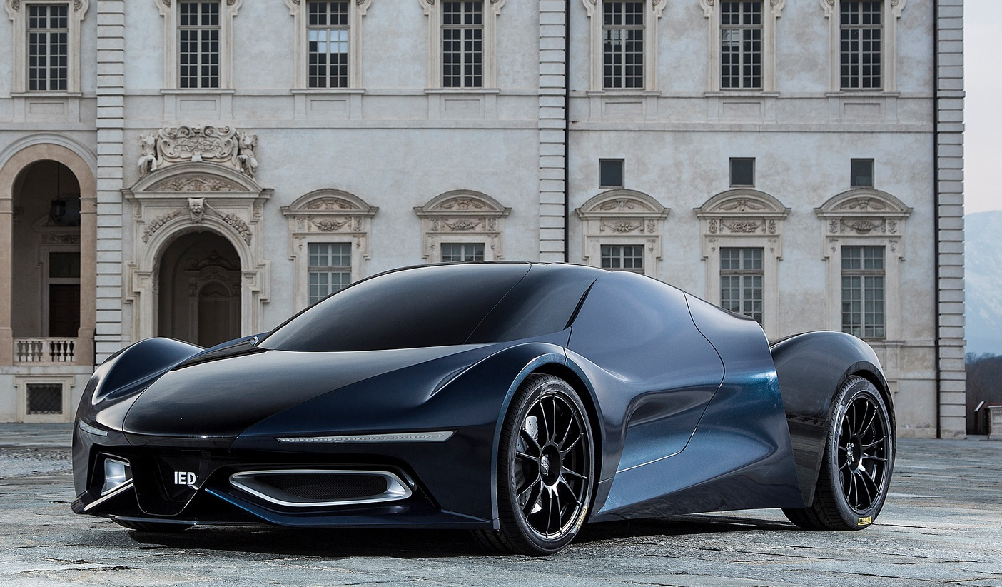 The ied syrma concept car is a futuristic mclaren lookalike autoevolution