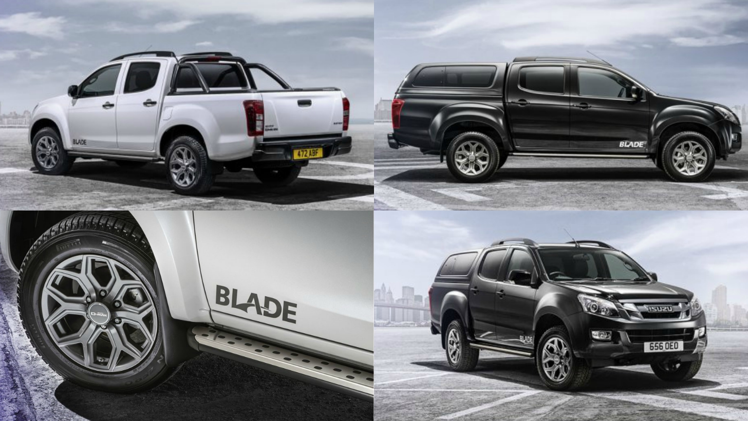 2015 isuzu d max blade is the new flagship of the range autoevolution. Black Bedroom Furniture Sets. Home Design Ideas