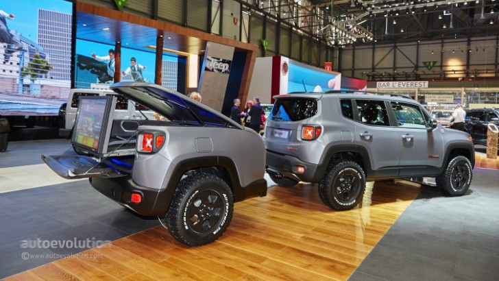 Green Jeep Wrangler >> 2015 Jeep Renegade Gets the Hard Steel Treatment in Time for Geneva - autoevolution