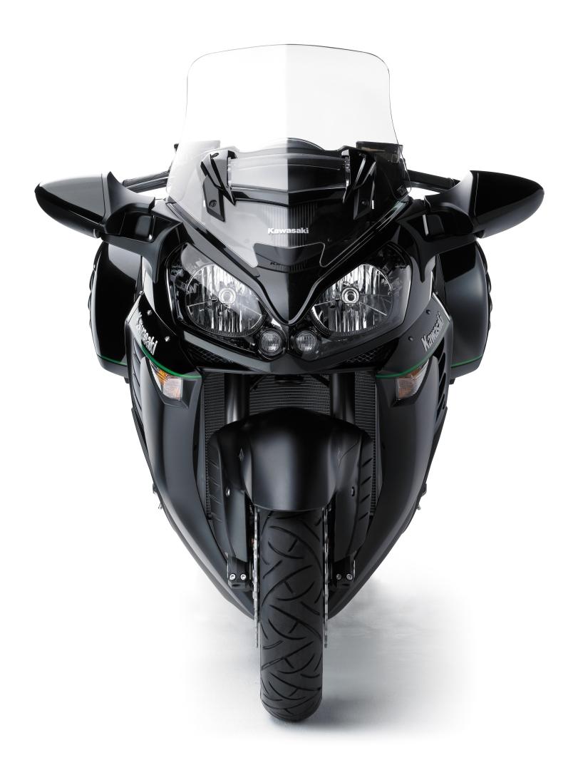 2015 Kawasaki 1400GTR Transcontinental Supersport Still Has