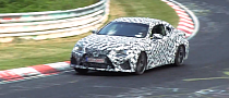 2015 Lexus RC F Spied, Sounds Like a V8 Automatic [Video]