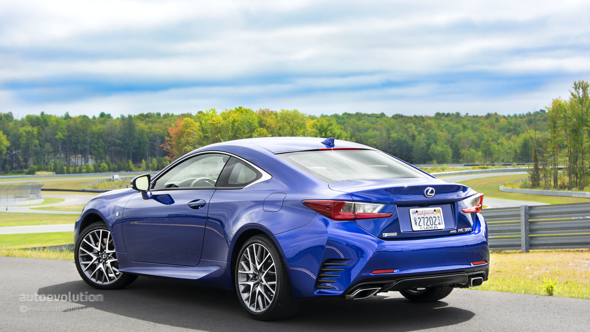 2015 lexus rc rc f tested autoevolution. Black Bedroom Furniture Sets. Home Design Ideas