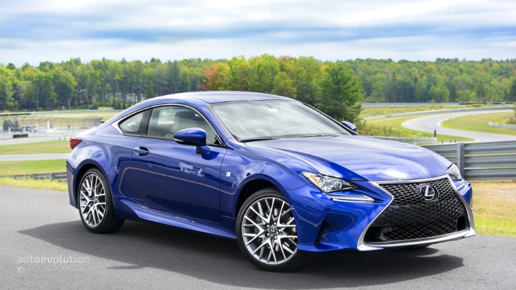 2015 Lexus RC, RC F: Your Sexy HD Wallpapers Are Here  autoevolution
