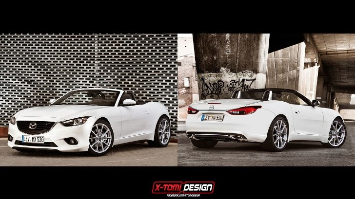 2015 Mazda MX-5 Rendering Will Give You a Reason to Live [Update]