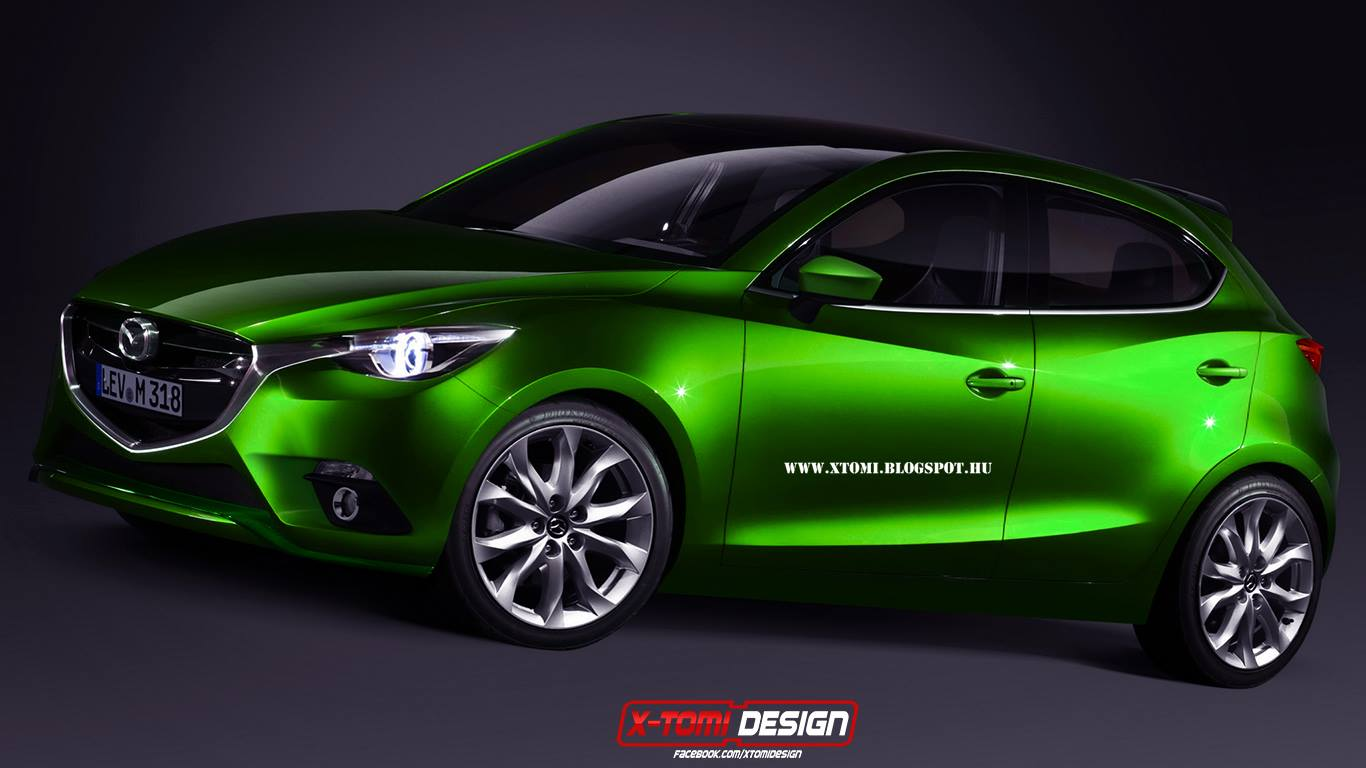 2015 Mazda2 to Ditch 3-Door Body, Continue to Be Offered as a Sedan