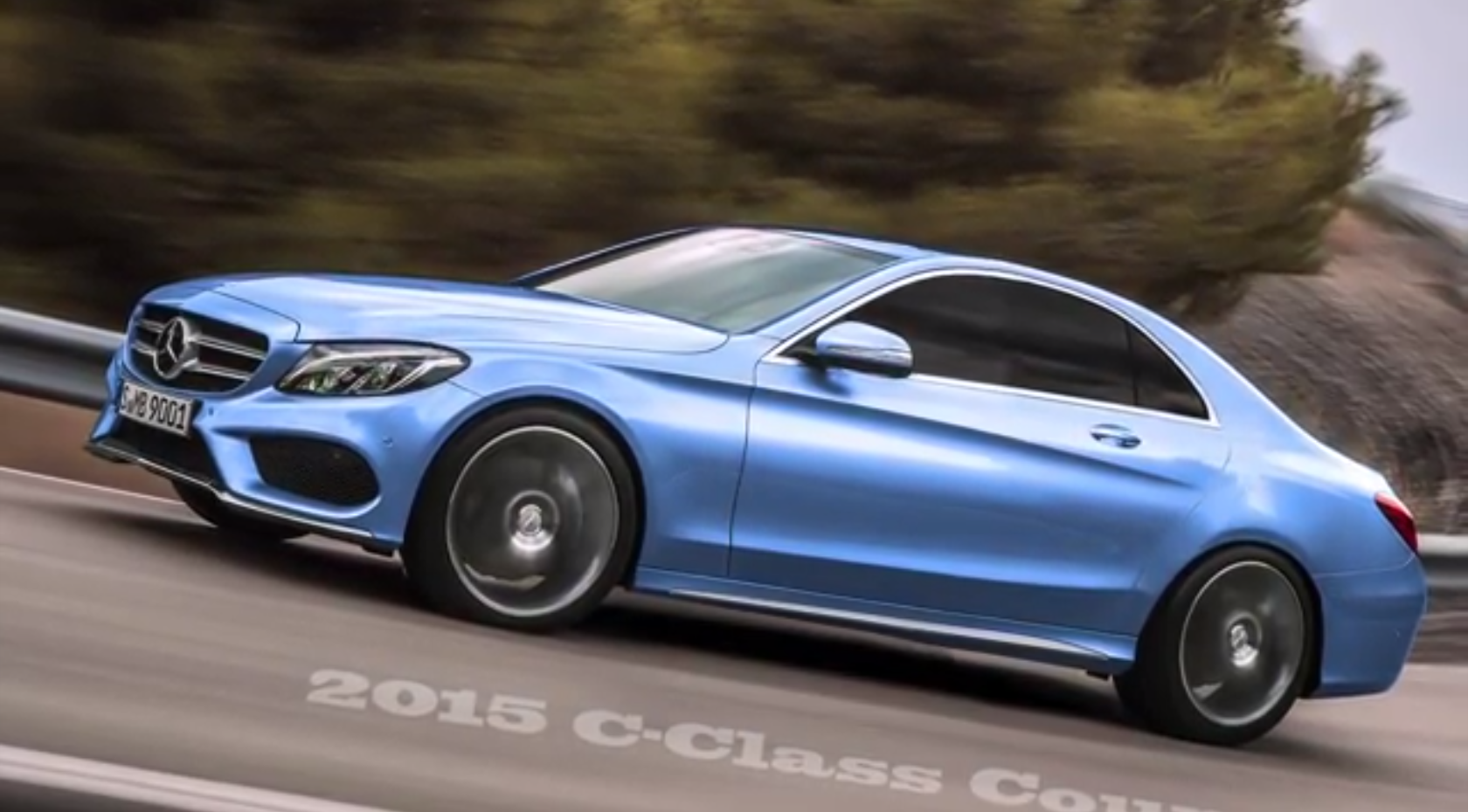 2015 mercedes benz c class coupe c205 rendered autoevolution