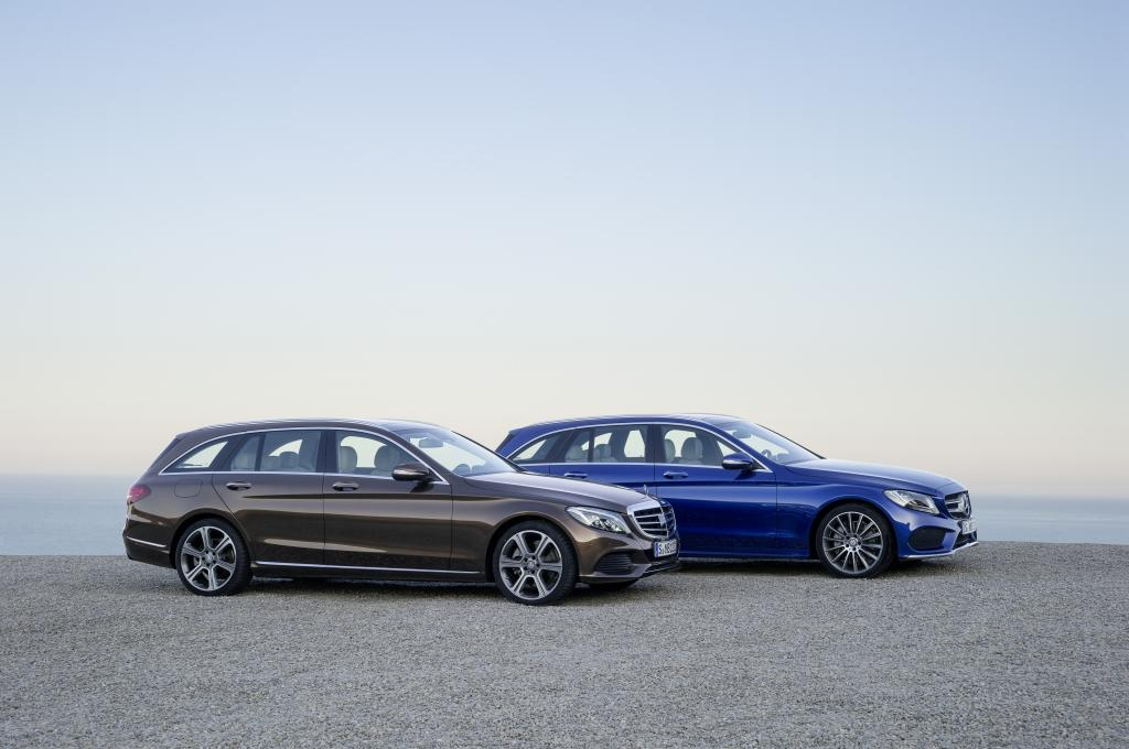 2015 mercedes benz c class estate official images and for Mercedes benz c350 horsepower