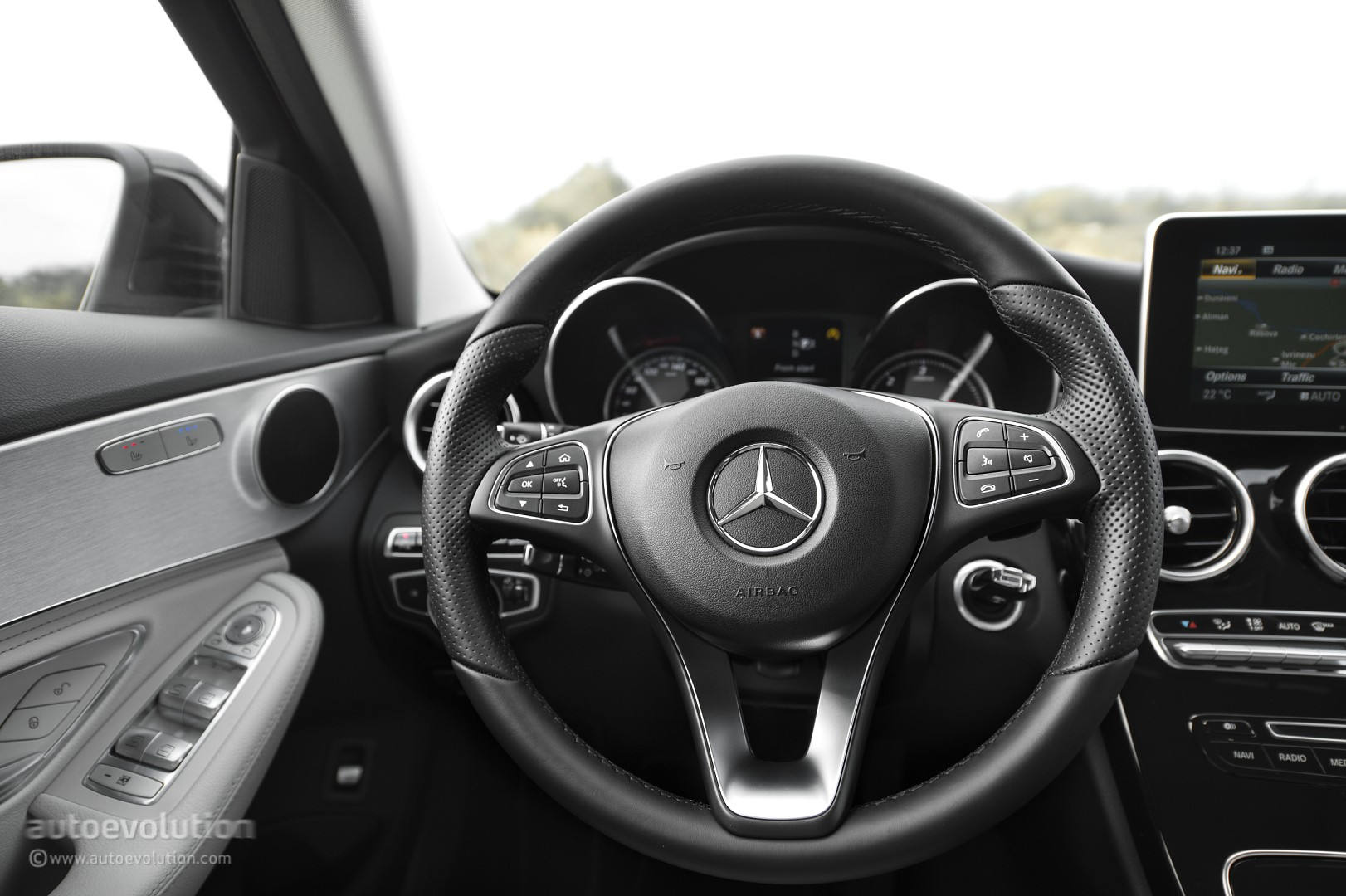 2015 mercedes-benz c-class hd wallpapers: they call it baby s-class