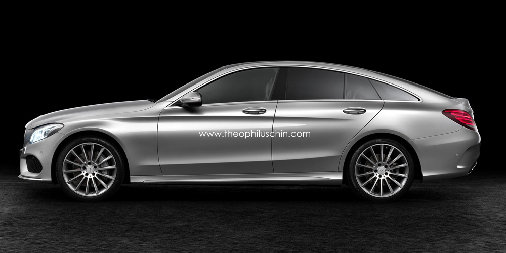 2015 mercedes benz c class sportcoupe rendered autoevolution for New 2015 mercedes benz c class