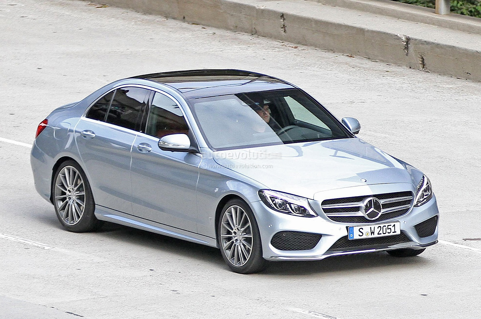 2015 mercedes benz c class w205 completely revealed for Mercedes benz a class 2015