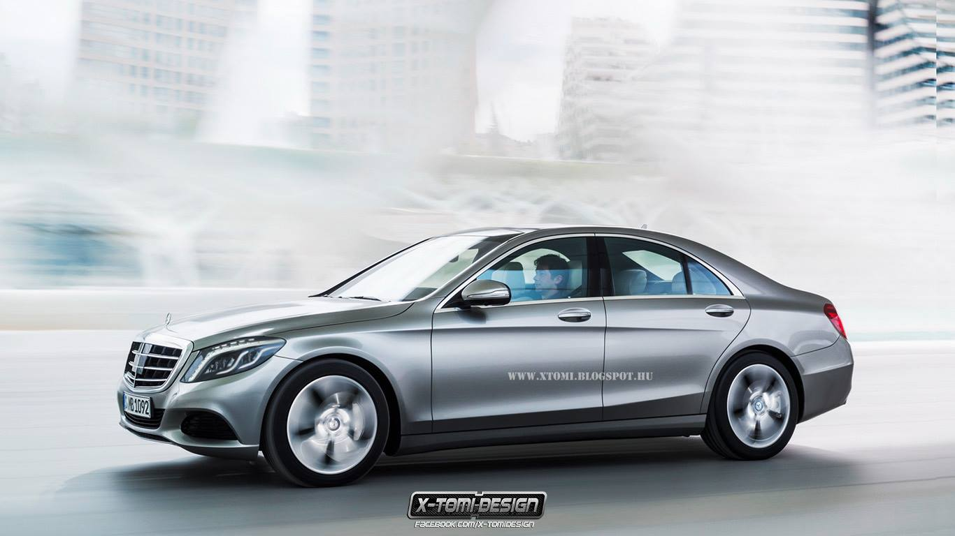 2015 mercedes benz c class w205 gets rendered autoevolution. Black Bedroom Furniture Sets. Home Design Ideas