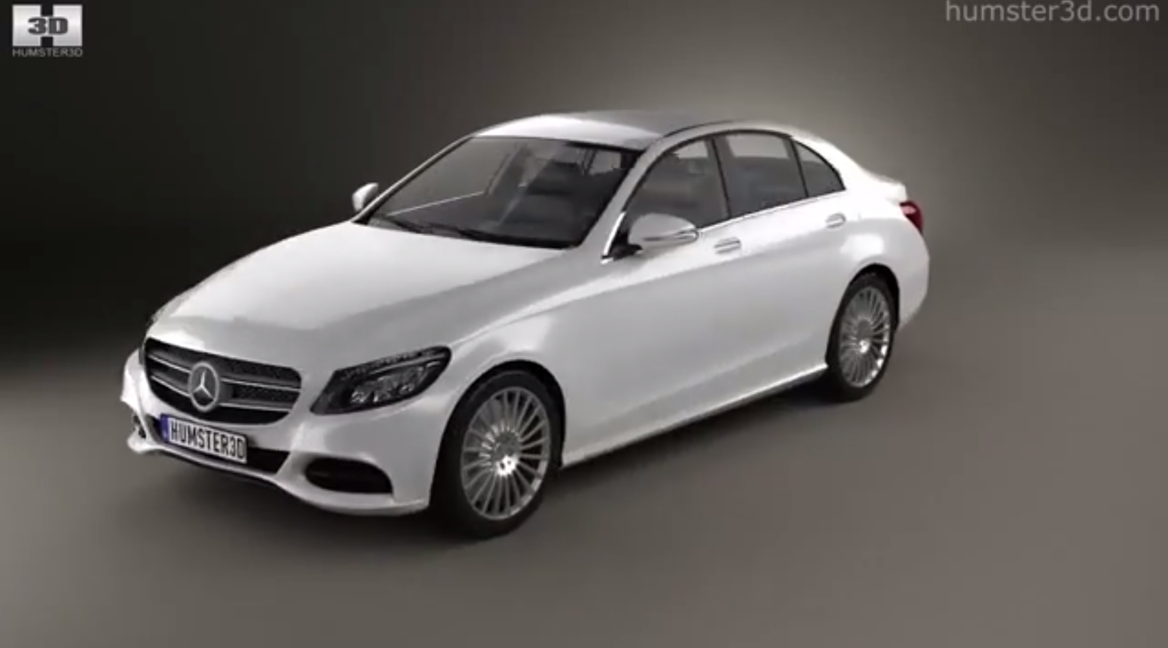 2015 mercedes benz c class w205 rendered in 3d video autoevolution. Black Bedroom Furniture Sets. Home Design Ideas