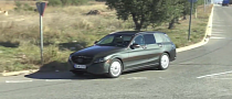 2015 Mercedes-Benz C-Class Wagon S205 Caught on Video