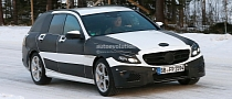 2015 Mercedes-Benz C-Class Wagon S205 Spied at The Arctic Circle [Photo Gallery]