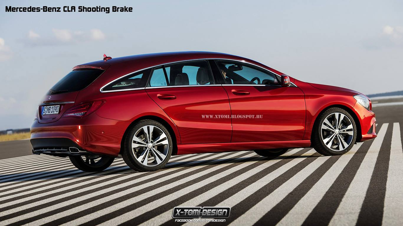 2015 mercedes benz cla shooting brake unnecessarily for Mercedes benz 2015 cla