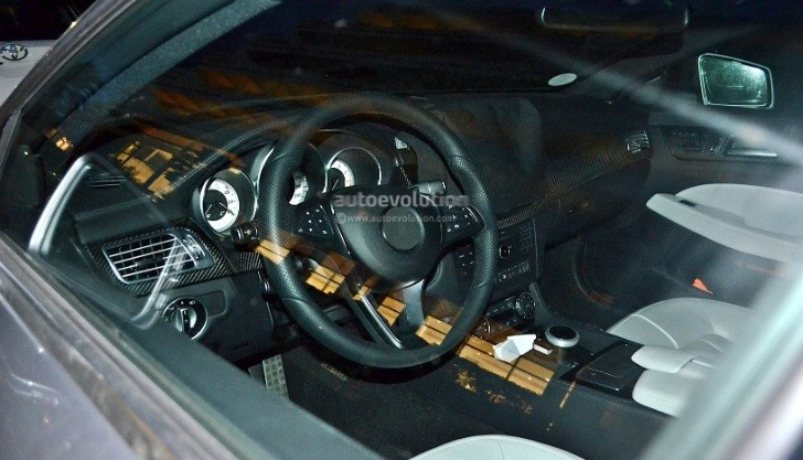 2015 Mercedes-Benz CLS C218 Facelift Interior Spied