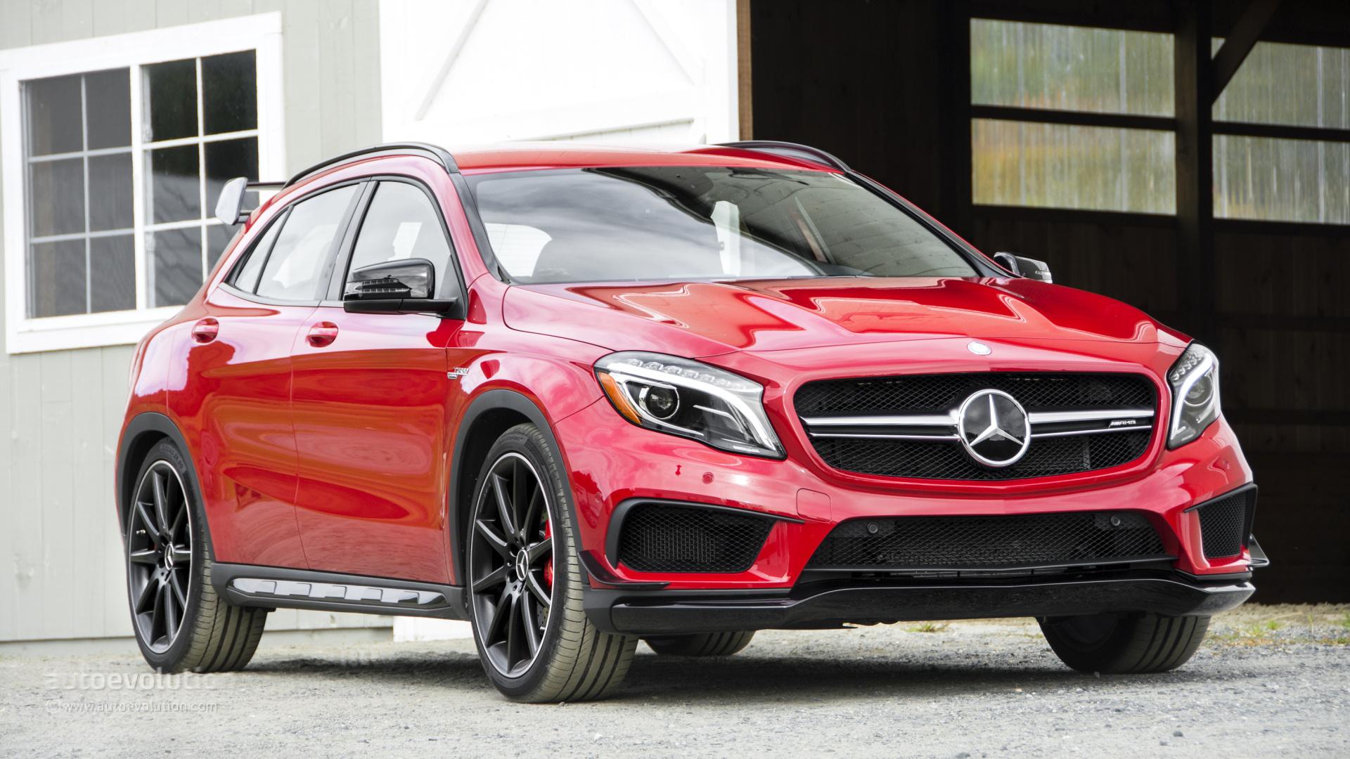 78bd555367 2015 Mercedes-Benz GLA45 AMG HD Wallpapers - autoevolution