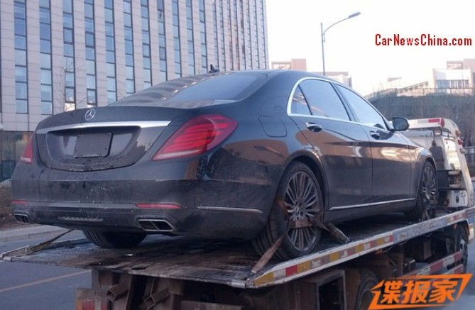 2015 mercedes benz s 600 v222 already spotted in china for 2015 mercedes benz s 600