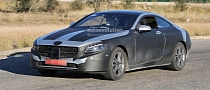 2015 Mercedes-Benz S-Class Coupe (C217) Spied with Less Camo [Photo Gallery]