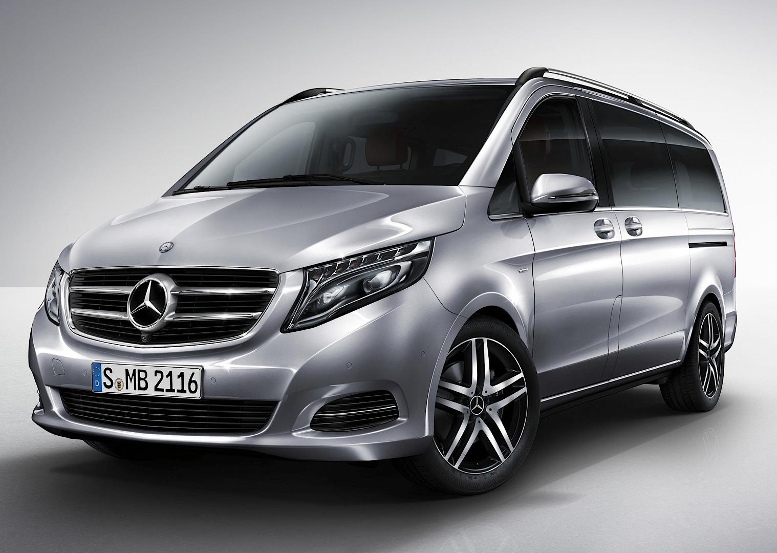van the auto road benz minivan mercedes on review express vito