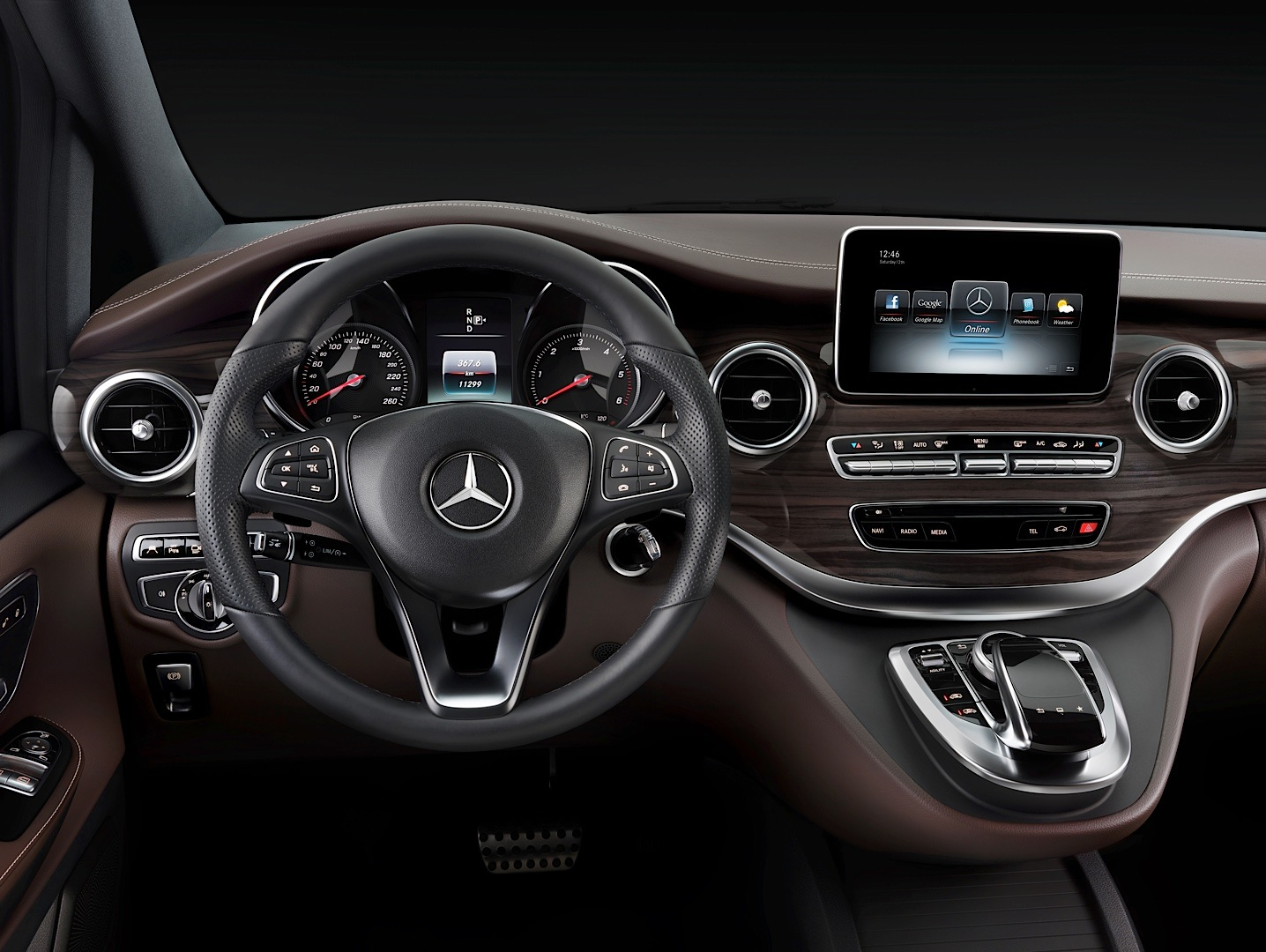 2015 mercedes benz v class might be sold in the us for Mercedes vito interieur