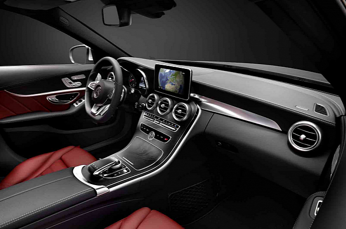 2015 Mercedes C-Class Interior Revealed [Photo Gallery]