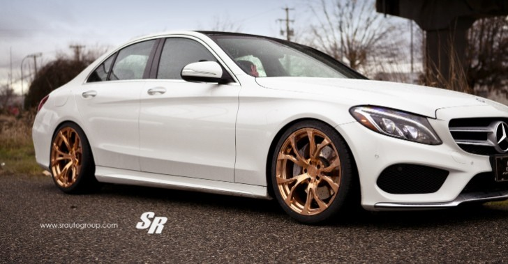 Executive Auto Group >> 2015 Mercedes C300 Gets Gold PUR Wheels, Shows Its Rich Side - autoevolution