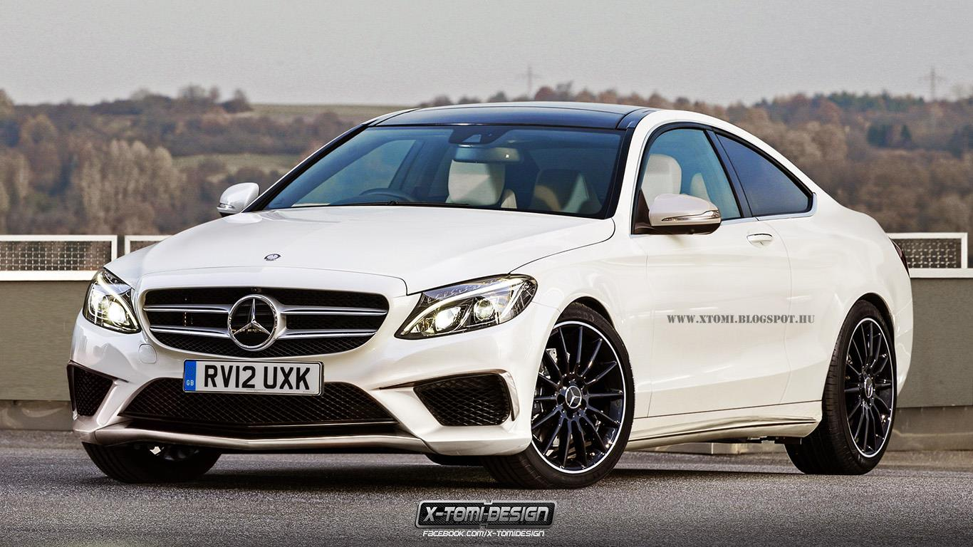 2015 Mercedes C63 AMG Coupe Rendering