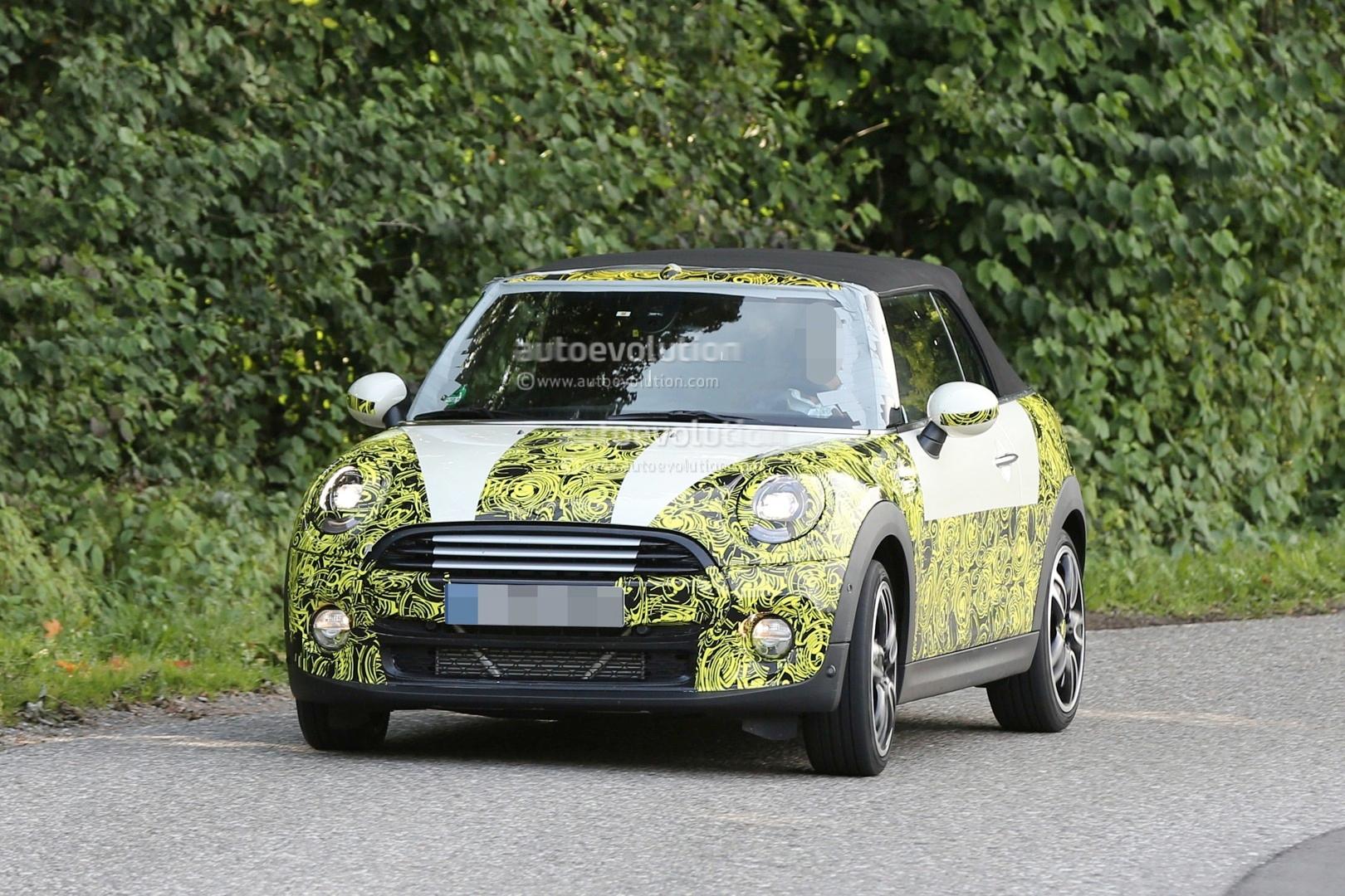 Mini Cooper 2015 : 2015 mini cooper convertible spied before la auto show debut autoevolution ~ Medecine-chirurgie-esthetiques.com Avis de Voitures