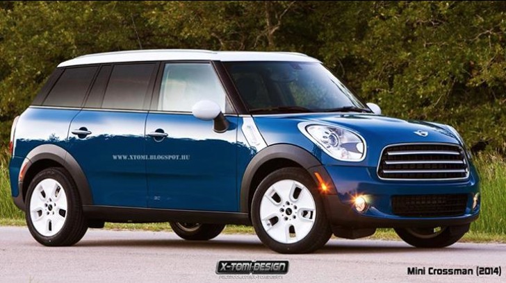 2015 MINI Cooper Spacebox Rendering