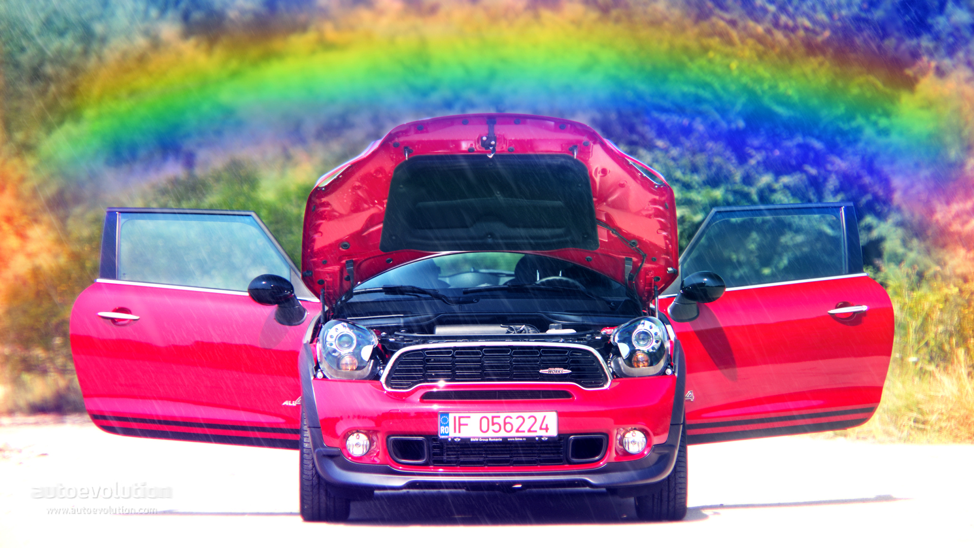 2015 Mini Jcw All4 Paceman Hd Wallpapers Rainbow Your Desktop