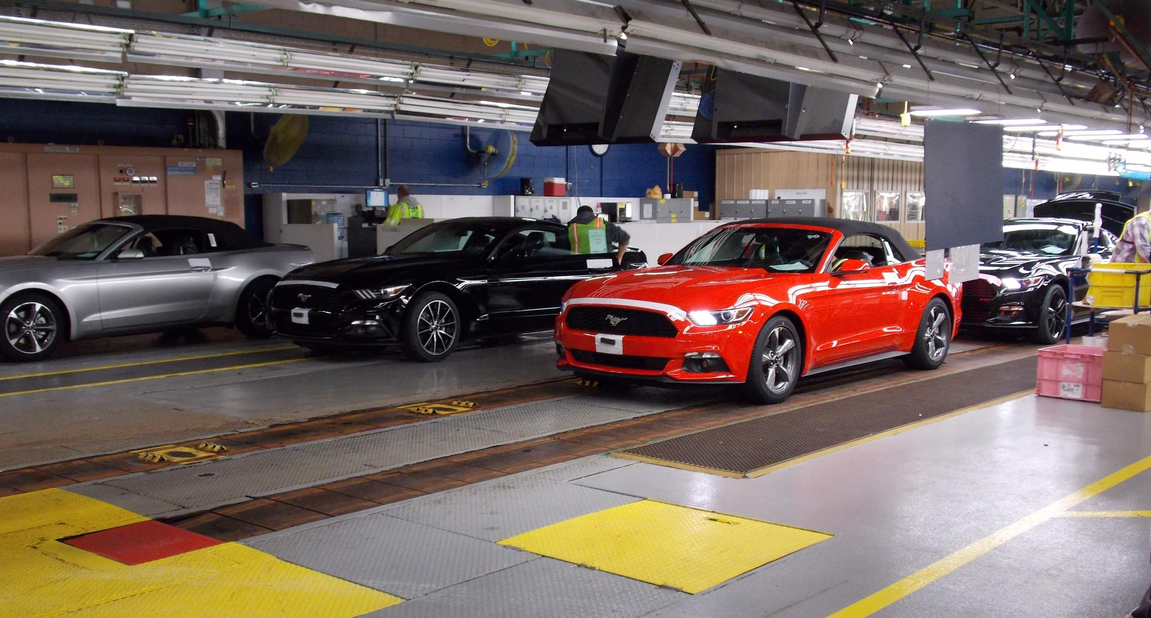 2015 Mustang Convertible Now En Route to Ford Dealers ... - photo#46